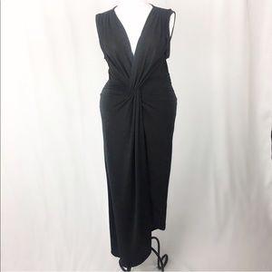 Lovers + Friends Black Sleeveless Twist Dress